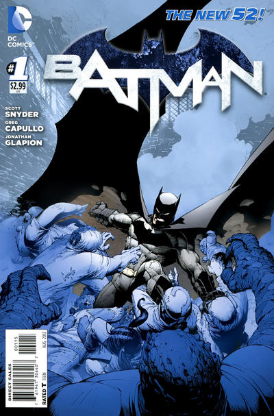 Cover for Batman (2011 series) #1