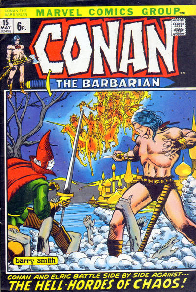 Cover for Conan the Barbarian (1970 series) #15