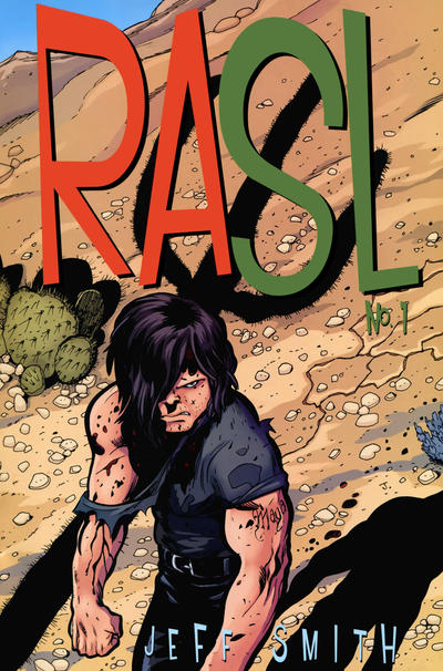Cover for RASL (Cartoon Books, 2008 series) #1