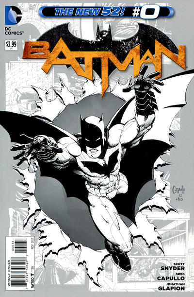 Cover for Batman (DC, 2011 series) #0 [Andy Clarke Cover]