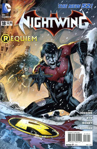Cover Thumbnail for Nightwing (DC, 2011 series) #18