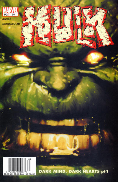 Cover for Incredible Hulk (2000 series) #50
