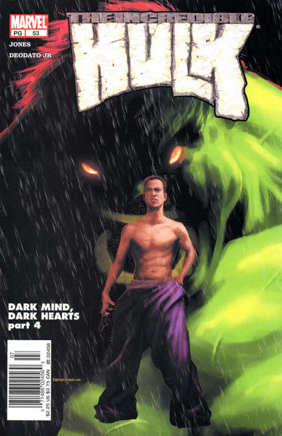 Cover for Incredible Hulk (Marvel, 2000 series) #53