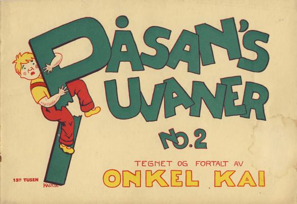 Cover for Påsan's uvaner (1928 series) #2 [1943 ? utgave]