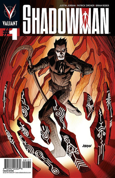 Cover for Shadowman (Valiant Entertainment, 2012 series) #1 [1 Zircher Second Printing]