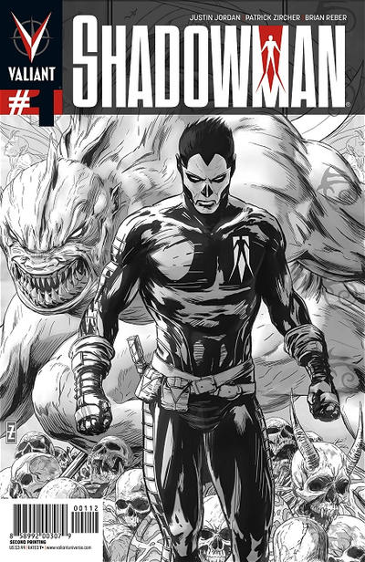 Cover for Shadowman (Valiant Entertainment, 2012 series) #1 [Dave Johnson 1:20 Variant]