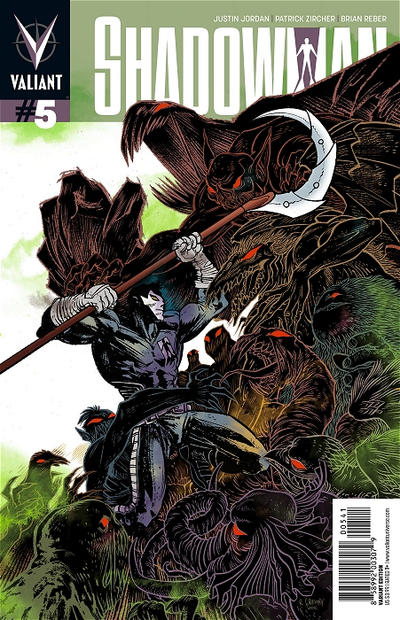 Cover for Shadowman (Valiant Entertainment, 2012 series) #5 [Dave Johnson 1:20 Variant]