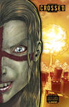 Cover for Crossed Badlands (Avatar Press, 2012 series) #25 [Die-Cut Variant Cover by Jacen Burrows]