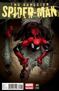 Cover Thumbnail for Superior Spider-Man (Marvel, 2013 series) #5 [Bagley]