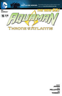 Cover Thumbnail for Aquaman (DC, 2011 series) #15 [Blank Variant Cover]
