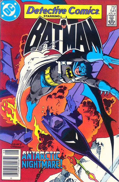 Cover for Detective Comics (1937 series) #541
