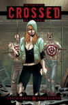 Cover for Crossed Badlands (Avatar Press, 2012 series) #25 [Collectors Set VIP Exclusive Cover by Jacen Burrows]
