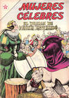 Cover for Mujeres Célebres (Editorial Novaro, 1961 series) #32