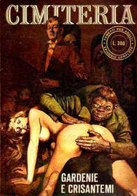 Cover for Cimiteria (Edifumetto, 1977 series) #4