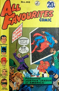 Cover Thumbnail for All Favourites Comic (K. G. Murray, 1960 series) #88