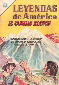 Cover Thumbnail for Leyendas de América (Editorial Novaro, 1956 series) #118