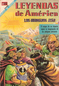 Cover Thumbnail for Leyendas de América (Editorial Novaro, 1956 series) #148