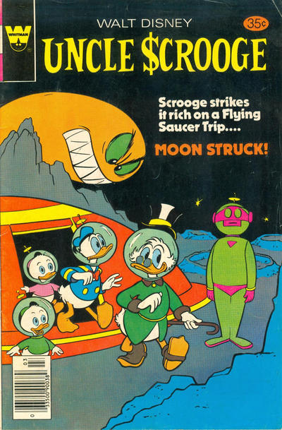 Cover for Uncle Scrooge (Western, 1963 series) #162 [Gold Key Variant]