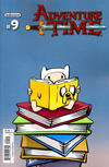 Cover for Adventure Time (Boom! Studios, 2012 series) #9 [Cover B by Shannon Wheeler]