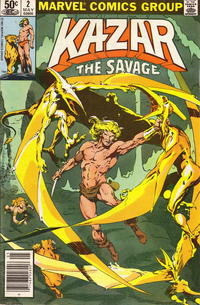 Cover Thumbnail for Ka-Zar the Savage (Marvel, 1981 series) #2 [Newsstand]