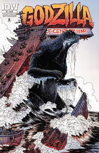 Cover Thumbnail for Godzilla: The Half-Century War (IDW, 2012 series) #5