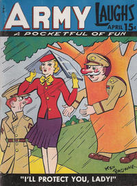 Cover Thumbnail for Army Laughs (Prize, 1941 series) #v4#1