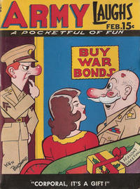 Cover Thumbnail for Army Laughs (Prize, 1941 series) #v4#11