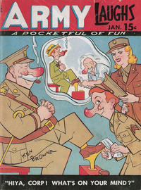 Cover Thumbnail for Army Laughs (Prize, 1941 series) #v5#10