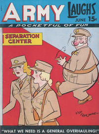Cover Thumbnail for Army Laughs (Prize, 1941 series) #v6#3