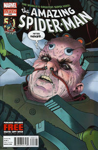 Cover Thumbnail for The Amazing Spider-Man (Marvel, 1999 series) #698 [3rd Printing]