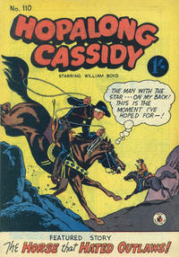 Cover Thumbnail for Hopalong Cassidy (K. G. Murray, 1954 series) #110