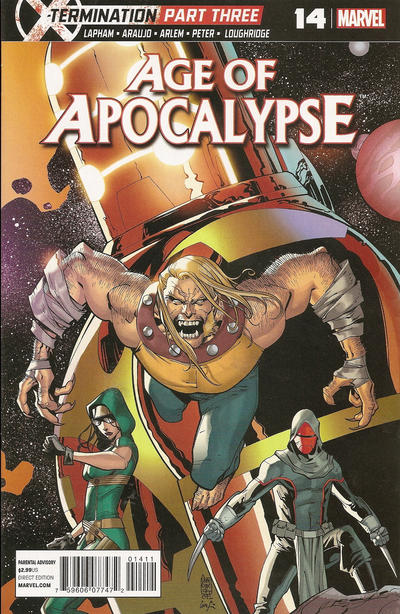Cover for Age of Apocalypse (Marvel, 2012 series) #14