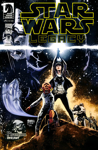 Cover for Star Wars: Legacy (Dark Horse, 2013 series) #1
