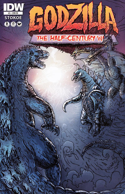 Cover for Godzilla: The Half-Century War (IDW, 2012 series) #5