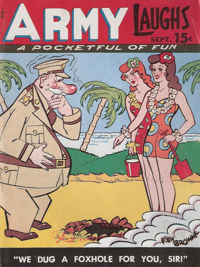 Cover for Army Laughs (Prize, 1941 series) #v5#6