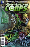 Cover for Green Lantern Corps (DC, 2011 series) #19