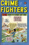 Cover for Crimefighters Comics (Bell Features, 1948 series) #8