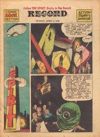 Cover Thumbnail for The Spirit (Register and Tribune Syndicate, 1940 series) #4/5/1942