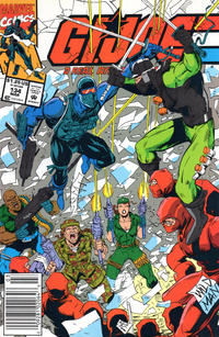 Cover Thumbnail for G.I. Joe, A Real American Hero (Marvel, 1982 series) #134 [Newsstand Edition]
