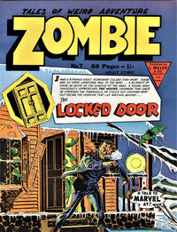 Cover Thumbnail for Zombie (L. Miller & Son, 1961 series) #7