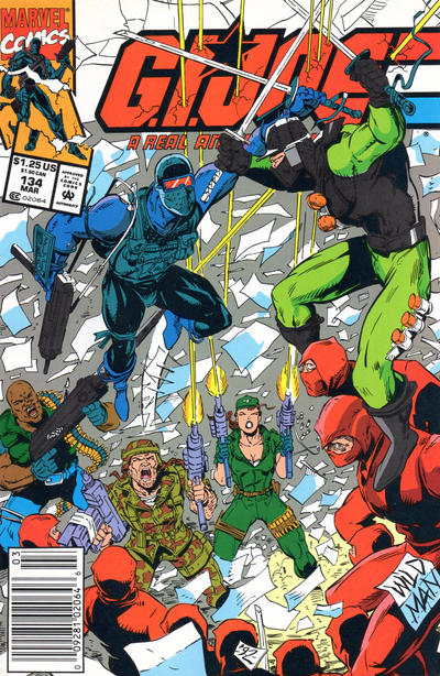 Cover for G.I. Joe, A Real American Hero (Marvel, 1982 series) #134 [Newsstand Edition]