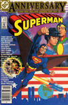Cover Thumbnail for Superman (1939 series) #400 [Newsstand Edition]