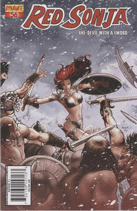 Cover Thumbnail for Red Sonja (Dynamite Entertainment, 2005 series) #56 [Cover A Paul Renaud]