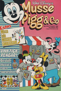 Cover Thumbnail for Musse Pigg & C:o (Hemmets Journal AB, 1980 series) #9/1988