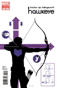Cover for Hawkeye (Marvel, 2012 series) #2
