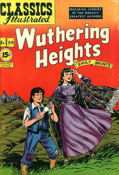Cover for Classics Illustrated (Gilberton, 1948 series) #59