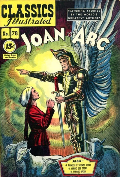 Cover for Classics Illustrated (Gilberton, 1948 series) #78
