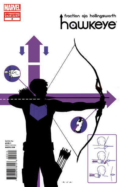 Cover for Hawkeye (2012 series) #2