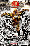 Cover Thumbnail for Age of Ultron (2013 series) #1 [Forbidden Planet Exclusive Variant by Bryan Hitch]