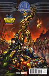 Cover Thumbnail for Age of Ultron (2013 series) #1 [Midtown Comics Exclusive Variant by J. Scott Campbell]